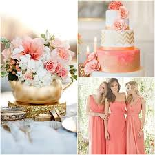 30 best Coral and Gold Wedding images on Pinterest
