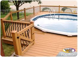 Above Ground Pool Deck Images by Pool Spa Decks Photo Gallery Decks Decks And More Decks