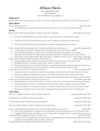 Resume Examples For College Students Athletes As Well Sample