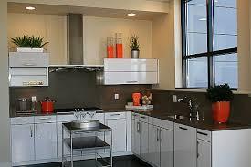 Antique Kitchen Decor Luxury White With Orange Accessories