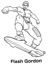 Flash Coloring Pages Bestofcoloring Disney