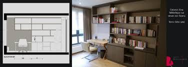 bureau bibliothèque intégré bibliotheque et bureau intégré portfolio tags agence diot clement