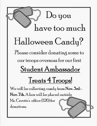 Donate Halloween Candy To Troops Overseas by What U0027s Poppin U0027 Ms Crovitz