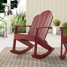 Sawyerville Adirondack Rocker Chair