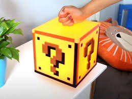 Mario Question Mark Block Lamp by Super Mario Question Block Light Coolstuff Com