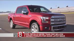 Ford Recalls More Than 1 Million F-series Pickups - YouTube Ford Recalls 2017 Super Duty Explorer Models Recalls 143000 Vehicles In Us Cluding F150 Mustang Doenges New Dealership Bartsville Ok 74006 For Massaging Seats Transit Wagon For Rear Seat Truck Safety Recall 81v8000 Fordificationcom 52600 My2017 F250 Pickup Trucks Over Rollaway Risk Around 2800 Suvs And Cars Flaws 12300 Pickups To Fix Steering Faces Fordtruckscom Confirms Second Takata Airbag Death Fortune More Than 1400 Fseries Trucks Due Airbag The Years Enthusiasts Forums
