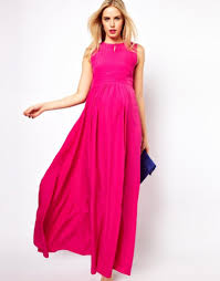 latest pink long sleeve maxi dress collection
