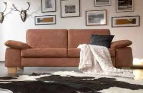 sofa 2 5 sitzer polstersofa wohnzimmer stoffbezug hasel braun
