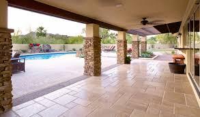 travertine flagstone patio pavers landscaping
