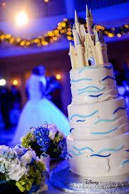 Yellow Princess Wedding Cakes