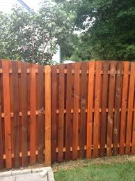 fence cleaning and staining