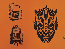 Walking Dead Halloween Stencils by Star Wars Pumpkins Starwars Com