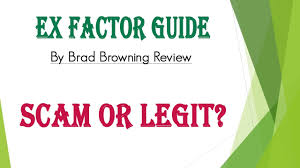 Everything You Need To Know About Brad Browning S The Ex Factor Book