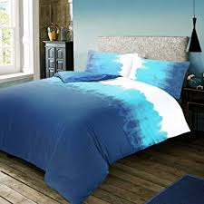 Nimsay Home 3pc Ombre Abstract Colour Gra nt Duvet Cover