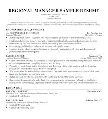 Regional Manager Job Description Template Sales Position Examples Resume Territory Sample Example S