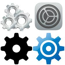 Settings Icon free PNG and vector