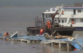 Cruise Ship Sinking 2015 by Photos First Pictures Capsized China Cruise Ship Pulled Out From