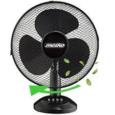 mesko tischventilator ø40 cm 45 watt ventilator rotation zuschaltbar oszillierend leiser betrieb windmaschine luftkühler geeignet für