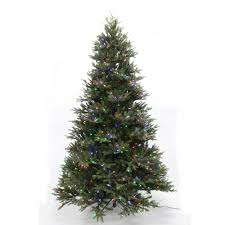 Pre Lit LED WRGB Majestic Fir Artificial Christmas Tree