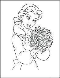 Disney Princess Coloring Book Online Free Download Pages Printable Games