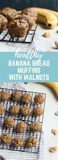 Healthy Maine Pumpkin Bread by Healthy Banana Bread Muffins With Walnuts Less Sugar And