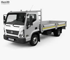 100 Mighty Trucks Hyundai EX8 Flatbed Truck 2018 3D Model Vehicles On Hum3D