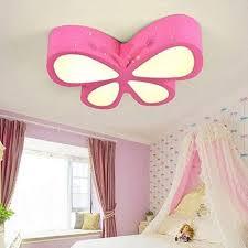 dimmbar dekoratives licht deckenleuchten rosa schmetterling
