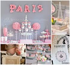 Parisian Baby Shower Inspiration Board