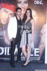 Varun Dhawan & Kriti Sanon at DILWALE trailer launch photo 44