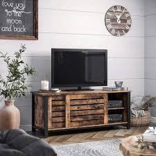 vasagle lowboard ltv41bx tv schrank für fernseher bis 48 zoll fernsehtisch wohnzimmer flur dunkelbraun kaufen otto