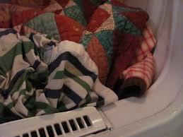 Quilt washing