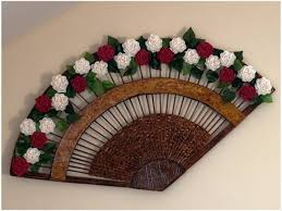 Craft Work Using Paper Diy Recycled Newspaper Tubes Decorative Fan With