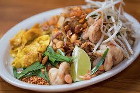 Krabi Pad Thai Picture of Bang Chop Thai Kitchen Chicago