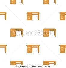 arriere plan de bureau animé style illustration bureau modèle isolé arrière plan clip