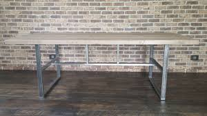 100 Griffin Ibeam Hand Made Industrial Reclaimed Dining Table Table By The