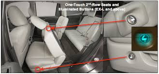 Does Acura Mdx Have Captains Chairs by 2016 Honda Pilot Comfort And Convenience Model Press Kit