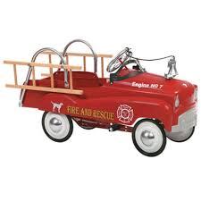 100 Antique Fire Truck Pedal Car InStep EBay