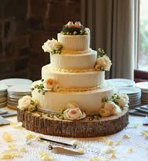 Unique Rustic Wedding Cake Stands