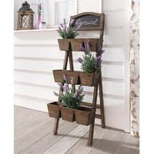 Patio Plant Stands Wheels by Planters Flower Pots Sears