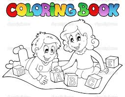Toddler Coloring Book Photography Children
