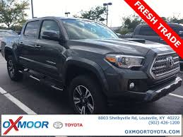 Certified Pre-Owned 2017 Toyota Tacoma TRD Sport 4D Double Cab In ... New 2018 Toyota Tacoma Trd Sport Double Cab 5 Bed V6 4x2 Automatic 2019 Upgrade 4 Door Pickup In Kelowna Preowned 2017 Crew Highlands Sr5 Vs 2015 4x4 Reader Review Product 36 Front Windshield Banner Decal Truck Off Chilliwack 2016 Used 4wd Lb At Feature Focus How To Use Clutch Start Cancel The I Tuned Suspension Nav
