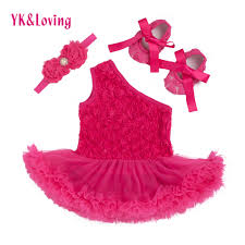 wholesale baby newborn girl dress roses china baby