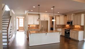 Antique White Cabinets With Glaze Kitchen Black Granite