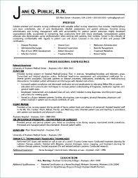 Sample Icu Nurse Resume Nursing Resumes Skill Medical