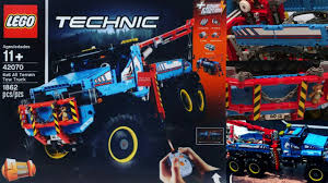 2017 Lego Technic 6x6 All Terrain Tow Truck Pre-Review 42070 - YouTube