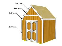8x10 Shed Plans Materials List by 25 Free Garden Shed Plans