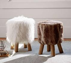 Faux Fur Accent Stool | Chairs | Pinterest | Stools And Barn Bathroom Pottery Barn Vanity Fniture Chairs And Stools White Desk Bar Bench Style Saddle Ikea Pin By Joanne Vidales On Dream Rooms Pinterest And Bathrooms Design Restoration Hdware Bathroom Challenge Faux Fur Stool Life Teen Chair Roy Home Stylish For Modern Bedroom Potteryvybarmtransionalwithbarndoor J Covington Single Sconce Blue Daybed Large Trunk Coffee Table Unique On Ding Room Amazing Turtle Market