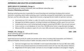 Resume Templates Senior Management Positions Best Of Download Executive Summary Samples