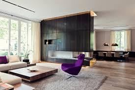 hightech wohnen in der villa modern wohnbereich essen