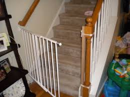 Best Baby Gate For Top Of Stairs With Banister Model Staircase Gate Awesome Picture Concept Image Of Regalo Baby Gates 2017 Reviews Petandbabygates North States Tall Natural Wood Stairway Swing 2842 Safety Stair Bring Mae Flowers Amazoncom Summer Infant 33 Inch H Banister And With Gate To Banister No Drilling Youtube Of The Best For Top Stairs Design That You Must Lindam Pssure Fit Customer Review Video Naomi Retractable Adviser Inspiration Jen Joes Diy Classy Maison De Pax Keep Your Babies Safe Using House Exterior